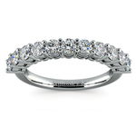 Eleven Diamond Wedding Ring in Platinum (1 ctw) | Thumbnail 02