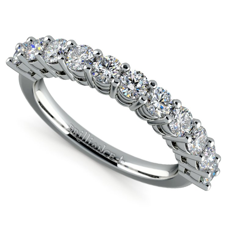 Eleven Diamond Wedding Ring in Platinum (1 ctw) | 01