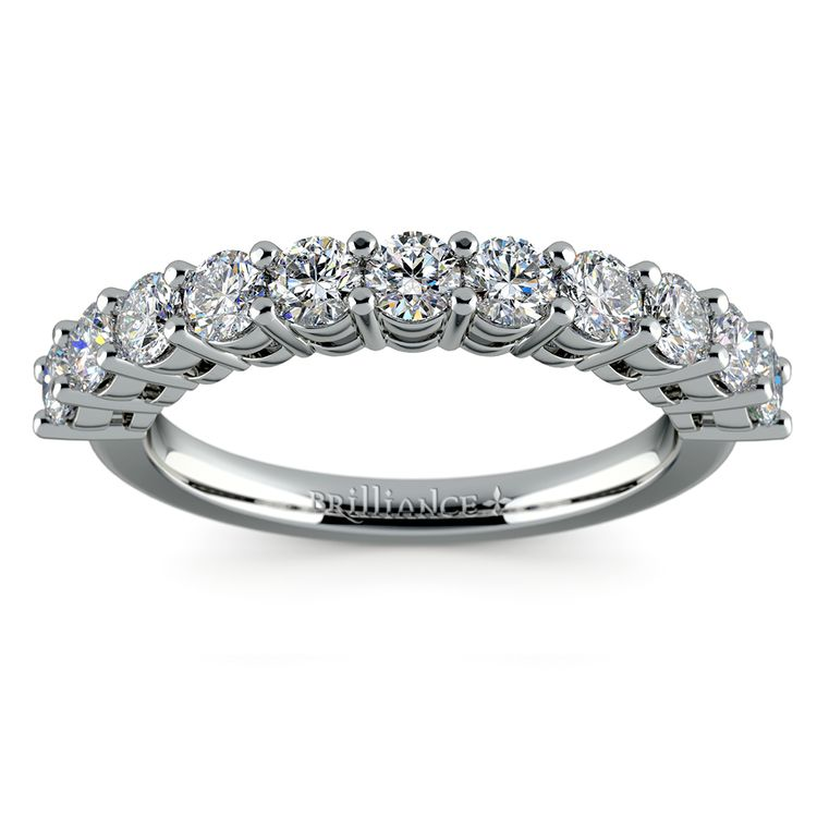 Eleven Diamond Wedding Ring in Platinum (1 ctw) | 02