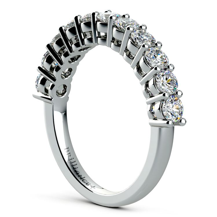 Eleven Diamond Wedding Ring in Platinum (1 ctw) | 04