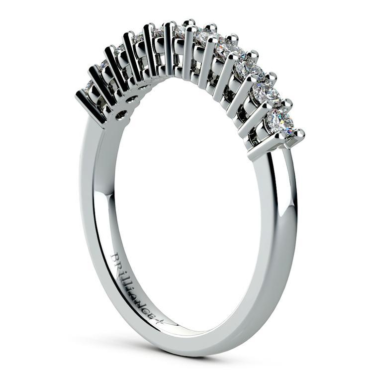 Eleven Diamond Wedding Ring in Platinum (1/3 ctw) | 04