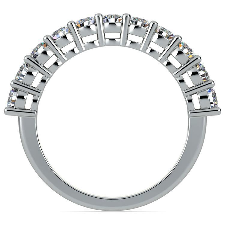 Eleven Diamond Wedding Ring in White Gold (1 ctw) | 03
