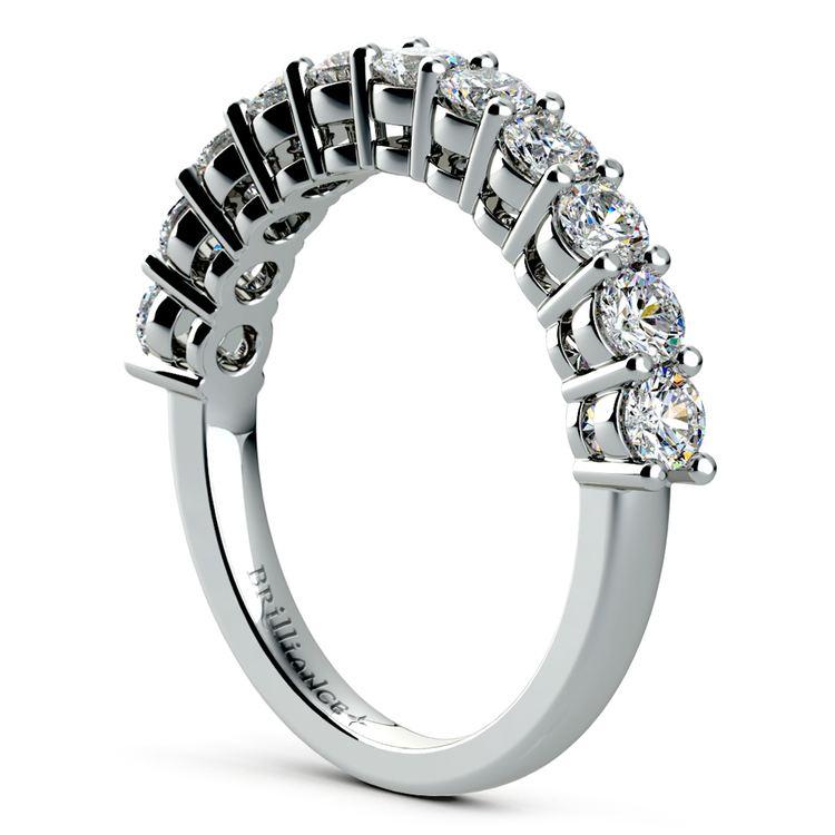 Eleven Diamond Wedding Ring in White Gold (1 ctw) | 04