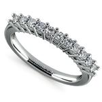 Eleven Diamond Wedding Ring in White Gold (1/3 ctw) | Thumbnail 01