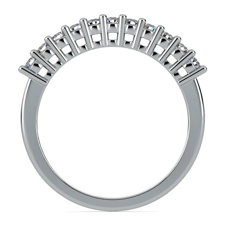 Eleven Diamond Wedding Ring in White Gold (1/3 ctw) | 03