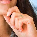 Eleven Diamond Wedding Ring in Yellow Gold (1 ctw) | Thumbnail 07