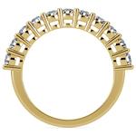 Eleven Diamond Wedding Ring in Yellow Gold (1 ctw) | Thumbnail 03