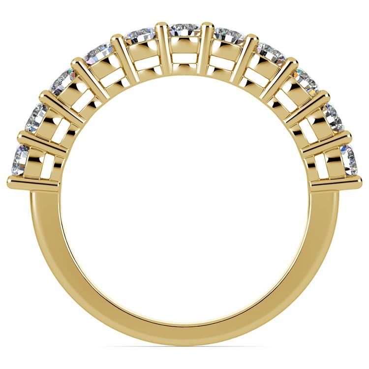 Eleven Diamond Wedding Ring in Yellow Gold (1 ctw) | 03