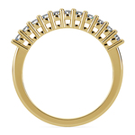 Eleven Diamond Wedding Ring in Yellow Gold (1/3 ctw) | Thumbnail 03