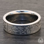 Enclave - Tree Branch Pattern Mens Band in Cobalt | Thumbnail 04
