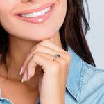 Five Diamond Wedding Ring in White Gold | Thumbnail 06