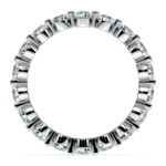 Floating Diamond Eternity Ring in Platinum (2 ctw) | Thumbnail 03