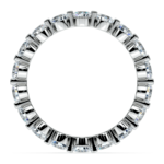 Floating Diamond Eternity Ring in White Gold (2 ctw) | Thumbnail 03