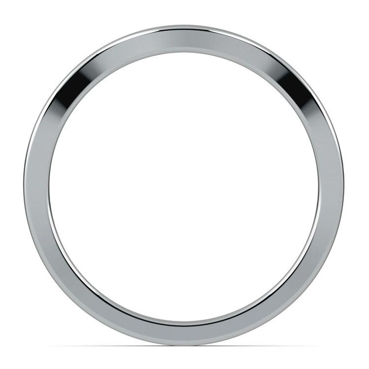 Florida Ivy Wedding Ring in Platinum   03