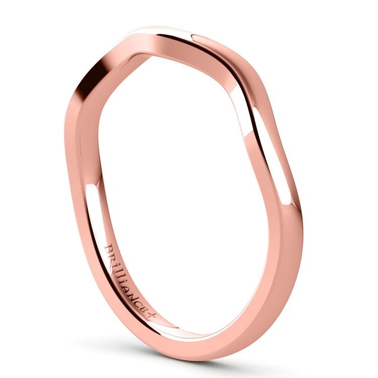 Florida Ivy Wedding Ring in Rose Gold | 04