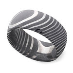 Forged - Damascus Steel Mens Band   Thumbnail 01