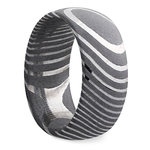 Forged - Damascus Steel Mens Band   Thumbnail 02
