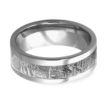 Gama - Mens Meteorite Ring in Titanium | Thumbnail 03
