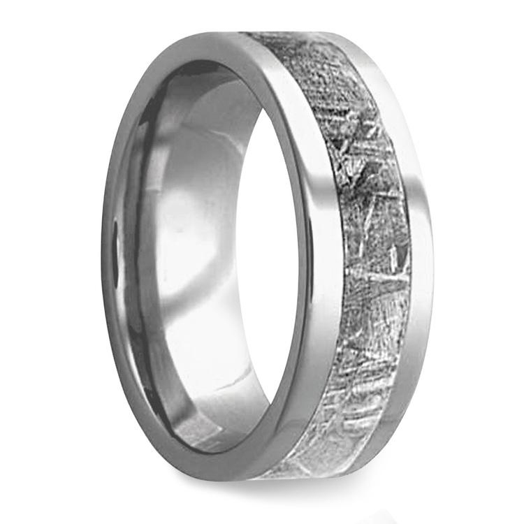 Gama - Mens Meteorite Ring in Titanium | 02