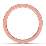 Gear Channel Men's Wedding Ring In Rose Gold | Thumbnail 03