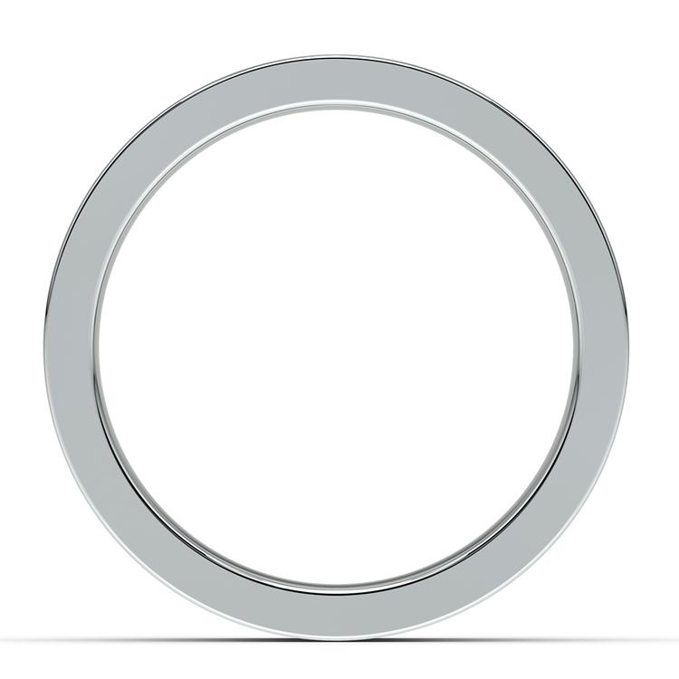 Gear Channel Men's Wedding Ring in White Gold | 03