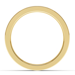 Gear Channel Men's Wedding Ring In Yellow Gold | Thumbnail 03