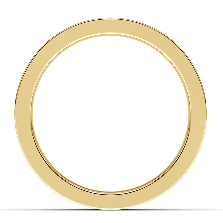 Gear Channel Men's Wedding Ring In Yellow Gold | 03