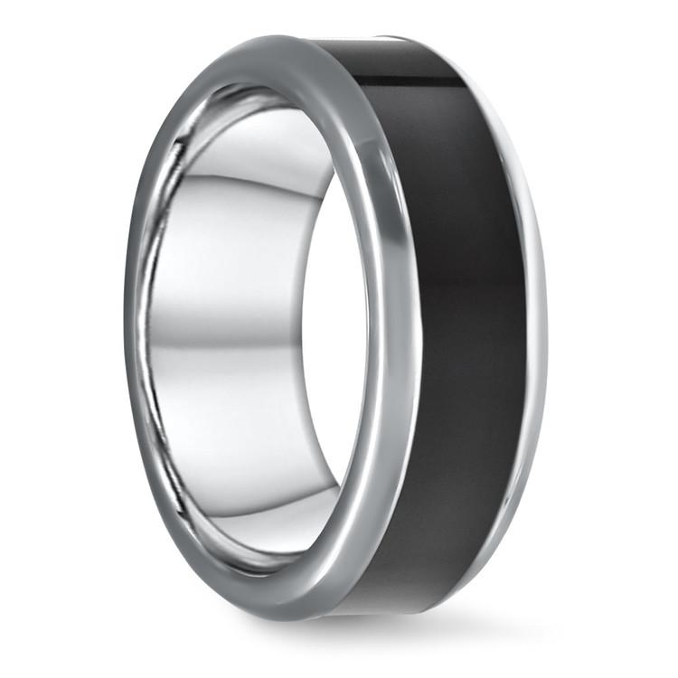 Hercules - Elysium Inlay Titanium Mens Ring | 02