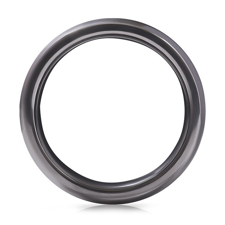 Hercules - Elysium Inlay Titanium Mens Ring | 03