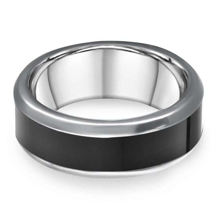 Hercules - Elysium Inlay Titanium Mens Ring | 04