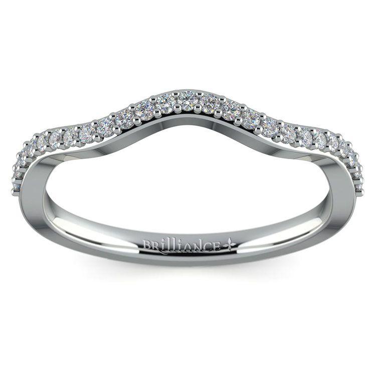 Ivy Diamond Wedding Ring in White Gold | 02