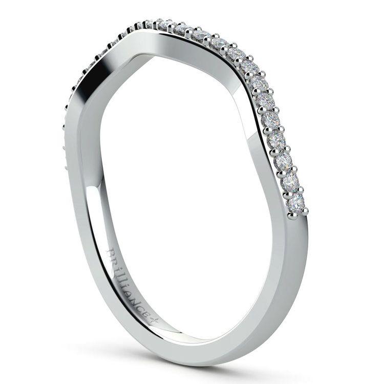 Ivy Diamond Wedding Ring in White Gold | 04