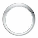Knife Edge Wedding Ring in Platinum | Thumbnail 03