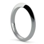 Knife Edge Wedding Ring in Platinum | Thumbnail 04