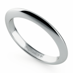 Knife Edge Wedding Ring in Platinum | Thumbnail 01