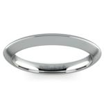Knife Edge Wedding Ring in White Gold | Thumbnail 02
