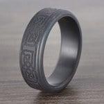 Kratos - Celtic Design Elysium Mens Wedding Band | Thumbnail 04