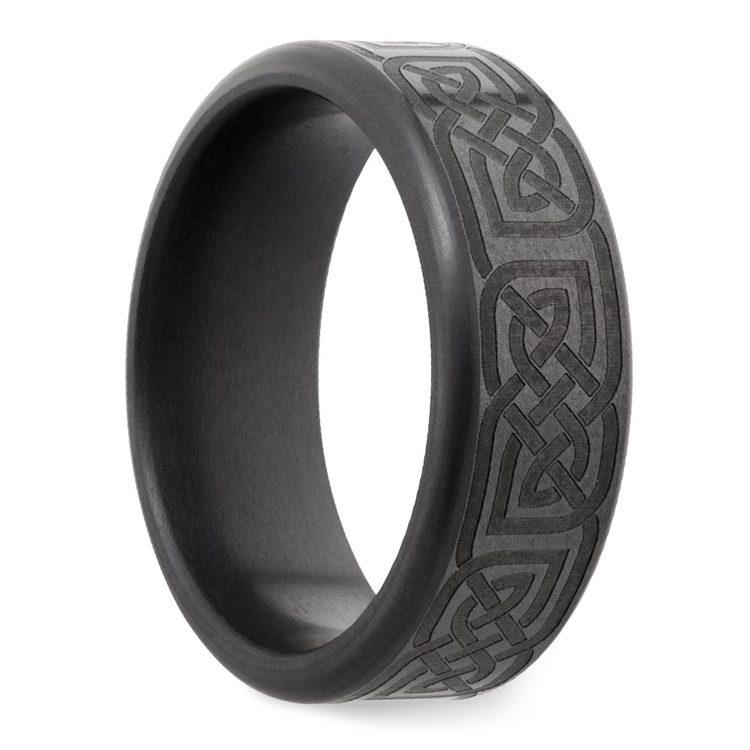 Kratos - Celtic Design Elysium Mens Wedding Band | 02