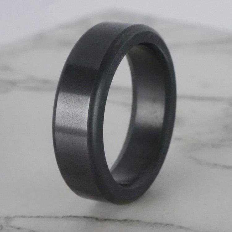 Kratos - Polished Flat Elysium Ring (6mm) | 06