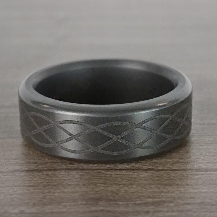 Kratos - Polished Celtic Weave Elysium Ring  | 07