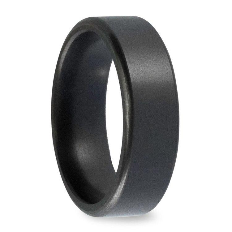 Kratos - Satin Flat Elysium Ring (6mm) | 02