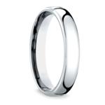Low Dome Men's Wedding Ring in Palladium (4.5mm) | Thumbnail 02