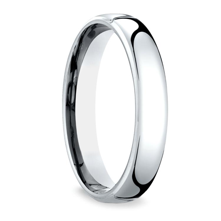 Low Dome Men's Wedding Ring in Palladium (4.5mm) | 02
