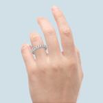 Elegant Marquise Diamond Eternity Band In Platinum | Thumbnail 06