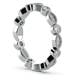 Edwardian Style Diamond Eternity Band in Platinum | Thumbnail 04