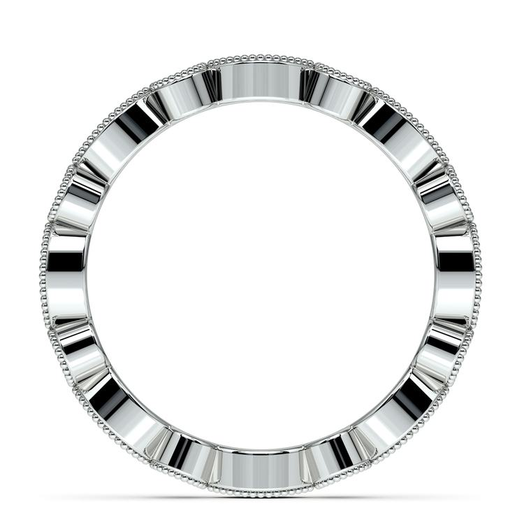 Edwardian Style Diamond Eternity Band in Platinum | 03