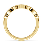 Matching Edwardian Style Vintage Diamond Wedding Ring in Yellow Gold | Thumbnail 03