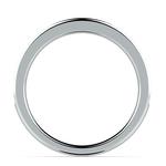 Matching Halo Diamond Wedding Ring in Platinum | Thumbnail 03