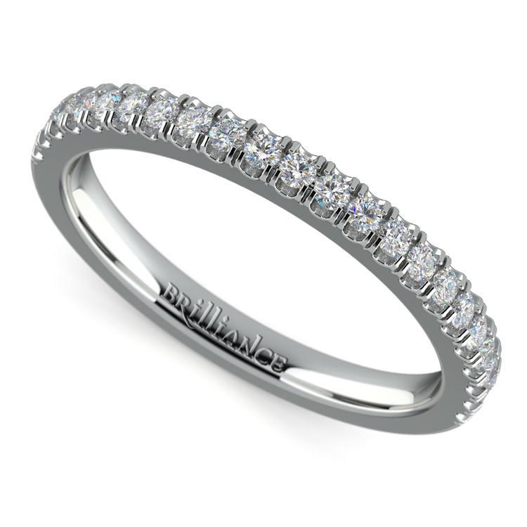 Matching Square Halo Diamond Wedding Ring In Platinum | 01