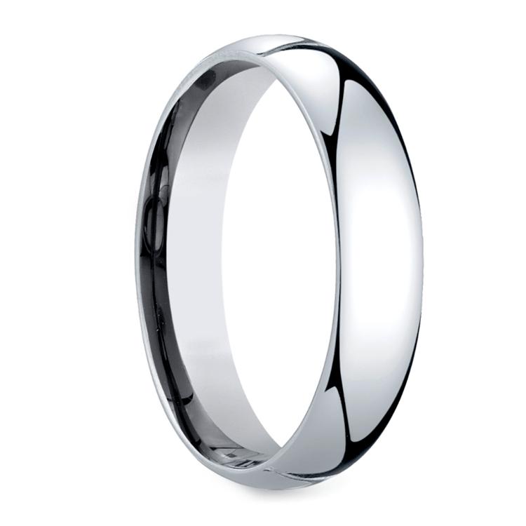 Mid-Weight Men's Wedding Ring in Platinum (5mm) | 02
